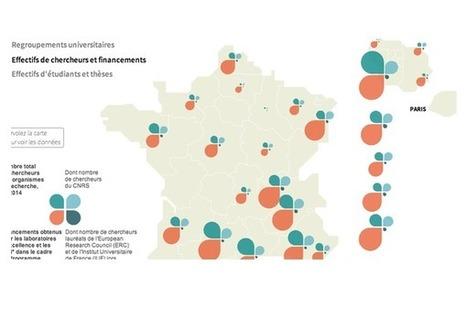 Recherche française : d'importantes inégalités territoriales #lyon #grenoble le duo gagnant! | Booster les ETI Entreprises de taille intermédiaire | Scoop.it