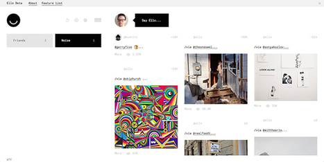 Marre des réseaux sociaux ? Découvrez Ello, l'anti-Facebook - Gameblog.fr | E-Réputation & Personal Branding | Scoop.it