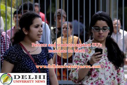 Parents and students against DU's mandate on Math | Website Design Company | SEO Services Delhi | Web Development | Scoop.it
