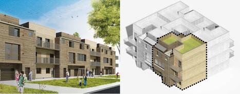 Les infinies possibilités de la construction à ossature bois | Architecture et construction bois | Scoop.it