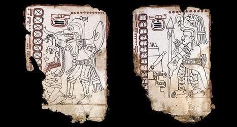 Ancient Maya codex not fake, new analysis claims | World History | Scoop.it