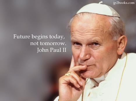 John-Paul II Wallpaper | Resources for Catholic Faith Education | Scoop.it