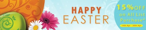 Avail the exclusive 15 % off Easter Sale Extended by Thomson Data | Marketing List | Scoop.it