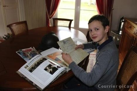 À 11 ans, il se passionne pour 14-18 - Courier Picard | Nos Racines | Scoop.it