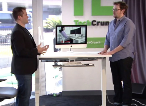 This Desk Will Tell You When To Sit And When To Stand | MarketingHits | Scoop.it
