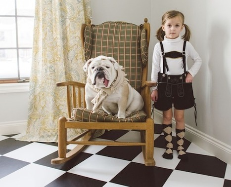 Friendship with Girl and Animals | picturescollections | Scoop.it