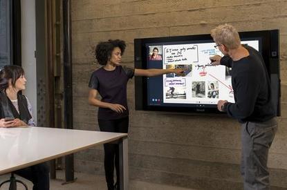 Microsoft Surface Hub Is Big On Collaboration | Teamwork | Scoop.it