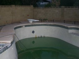 How To Turn A Green Pool Blue | AZ Pool Cleaning | Scoop.it