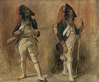 Soldats de la Première République - L'Histoire par l'image | GenealoNet | Scoop.it