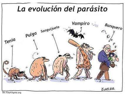 Evolution du parasite | Bankster | Scoop.it