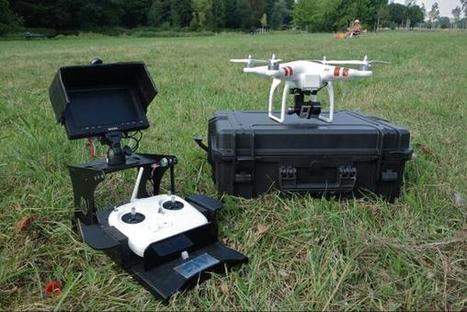 Twitter / matthiassecond: Le #drone DJI PHANTOM de la ... | Les Volutiles | Scoop.it