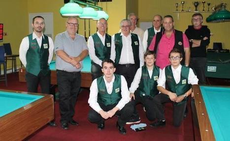 Le Billard Club Chalonnais était sur tous les fronts ce week-end - Info-chalon.com | Blogs de billard | Scoop.it