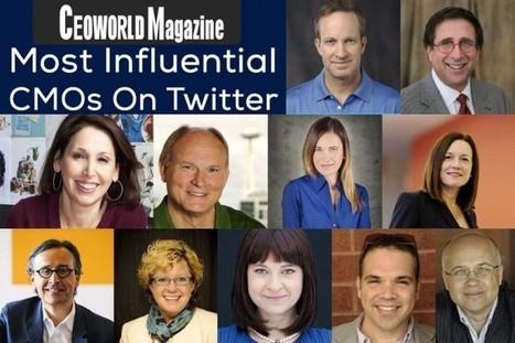 CMOs who actually Tweet | Digital Digest | Scoop.it