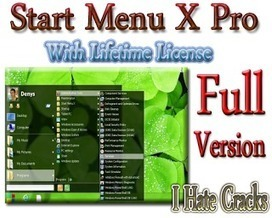 Start Menu X Pro 5.02 Full Version With Lifetime License For Free - I Hate Cracks | Forex | Scoop.it