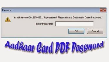 What is the Password to open Aadhaar Card PDF - Nobitas World | Nobitas World | Scoop.it