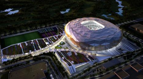 Unveiled Design for Qatar Foundation Stadium | Venari Sourcing Scoop | Scoop.it