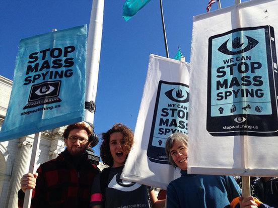Rally Against Mass Surveillance: Inspiring Pics...
