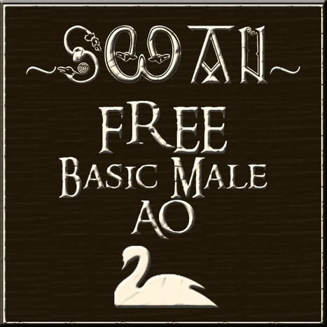 Basic Male AO by SWAN | Teleport Hub | Second Life Freebies | Scoop.it