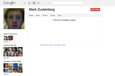 Zuckerberg Surprised That People Are Surprised He's On Google+ | The Google+ Project | Scoop.it