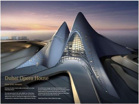 بيت الأوبيرا في دبي | هندسة معماريّة و التصميم الداخليّ | Scoop.it