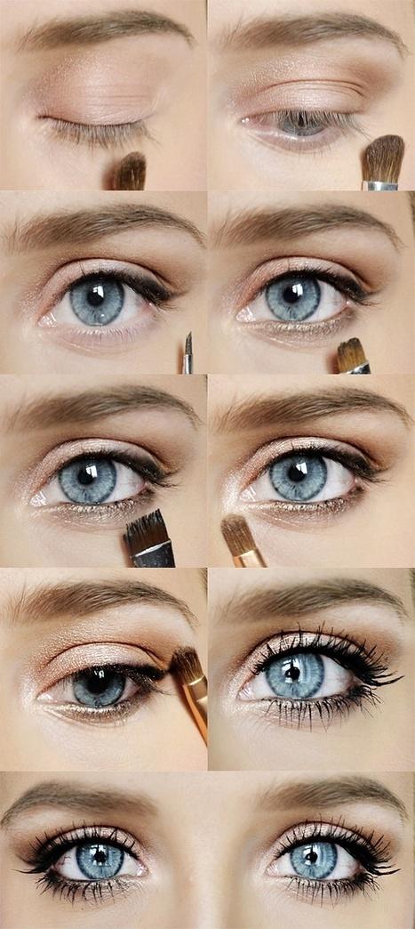 Как сделать серо голубые глаза голубыми - СтеллСервис