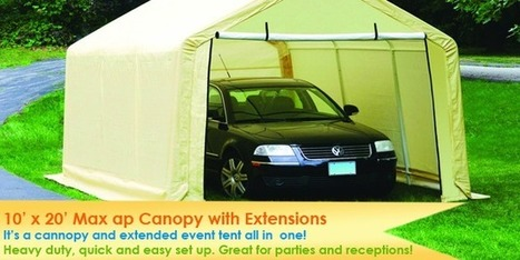 Buy Commercial & Industrial Tents. Easy to Assemble Ship & Store | Canopy Tents for Sale | Scoop.it