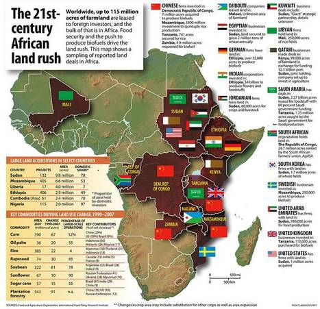 21st Century African Land Rush | History & Maps | Scoop.it
