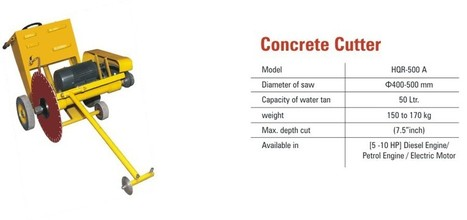 Concrete Cutter Machine is Available Online | Stirrup Bender Machine | Scoop.it