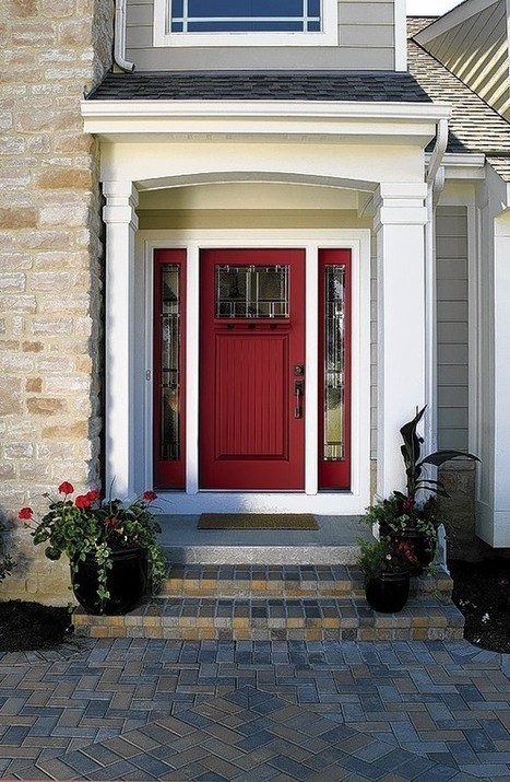 Experiment with a bold new door color for 2014 - Daily Press | doors | Scoop.it