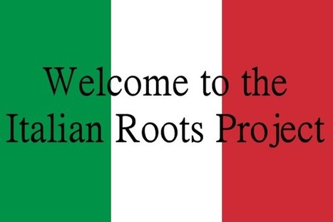 Wikitree: Italian Roots Project | Généal'italie | Scoop.it