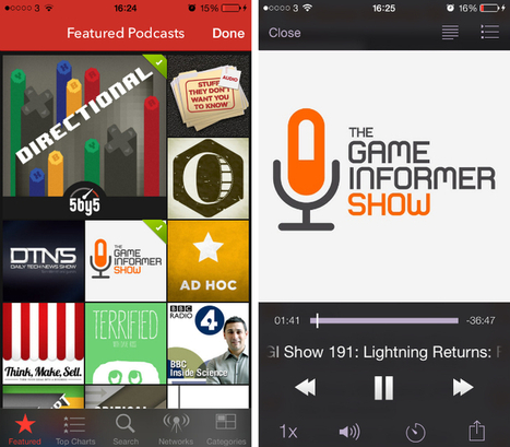 9 of the Best Podcast Apps for the iPhone and iPad | Tecnologia Instruccional | Scoop.it