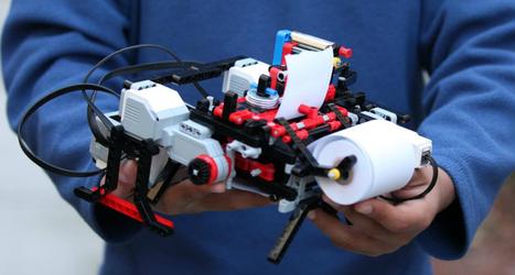 Un niño de 12 años construye una impresora braille con piezas de Lego   Diversifíjate   Scoop.it