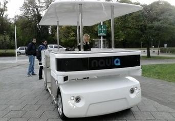 Une navette électrique robotisée en test à Strasbourg - L'Alsace.fr   A voir et à savoir autour de chez moi   Scoop.it