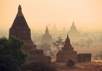 Torrential rains cause damage to Bagan's ancient pagodas | The Archaeology News Network | Kiosque du monde : Asie | Scoop.it