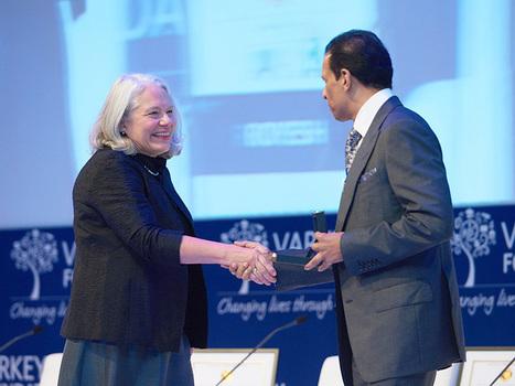 Winner of the $1 Million Global Teacher Prize Donates All to Education - People Magazine | International Education Jobs | Scoop.it