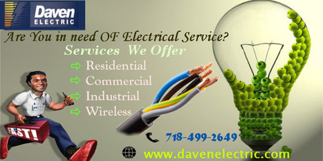 Emergency Residential Electric Service Newyork | Daven Electric Inc - A NYC Electrician | Scoop.it