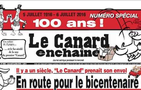 100 ans après, le Canard Enchaîné se déchaîne toujours | Las TIC en el aula de ELE | Scoop.it