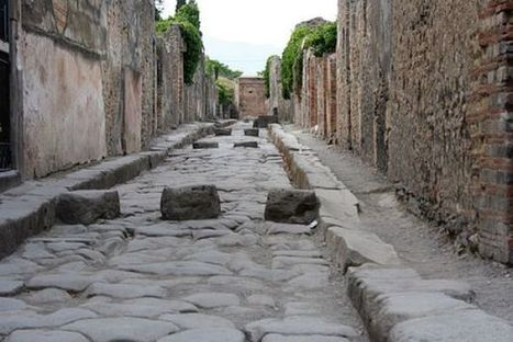 Pasos de peatones en la Antigua Roma | historian: people and cultures | Scoop.it