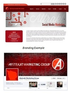 Letting Your Logo Lead Your Design Path | Abstrakt Marketing Group | Avant-garde Art & Design | Scoop.it