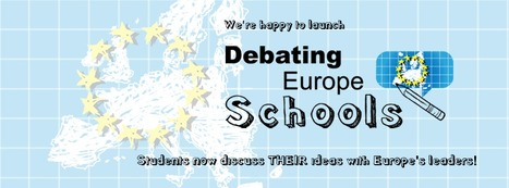 Debating Europe Schools | Debating Europe | A New Society, a new education! | Scoop.it