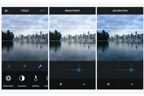 Instagram expands beyond simple filters with new slate of photography tools   BremWeb: Imaging Stuff   Scoop.it