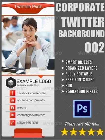 55+ Best Creative Twitter Backgrounds | Designrazzi | Premium Themes Download | Scoop.it