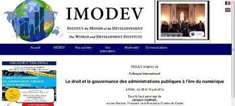 Colloque « Le droit et la gouvernance des administrations à l'ère du numérique » | Territorial & Web Digital | Scoop.it