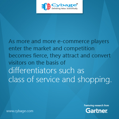 E-commerce players attract and convert visitors on the basis of differentiators such as class of service and shopping experience | Cybage IT News | Scoop.it