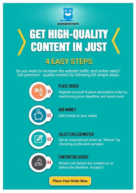 Get High-Quality Content in Just 4 Easy Steps | ferelrew | Scoop.it