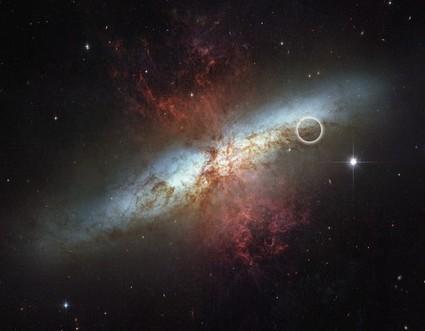 Une étoile explose dans une galaxie très proche | Science et astroscience | Scoop.it