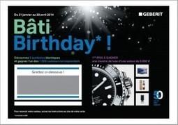 Opération Bâti-Birthday : 50 ans déjà pour le Bâti-support! - Plomberie facile | Plomberie Facile | Scoop.it