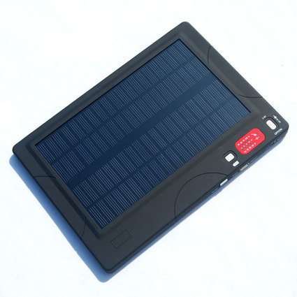 High Capacity Laptop Solar Bank | Solar Charger | Scoop.it