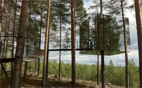 Sweden: The invisible hotel room   Wicked!   Scoop.it