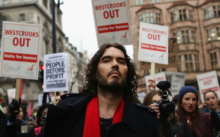 This is Russell Brand's new documentary about the financial crisis | money money money | Scoop.it